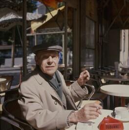 Jean Philippe Arthur Dubuffet, by Ida Kar - NPG x134457