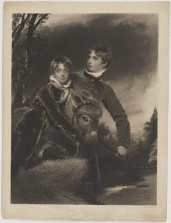 Jacob Howell Pattisson; William Henry Ebenezer Pattisson, by John Charles Bromley, after  Sir Thomas Lawrence - NPG D39573