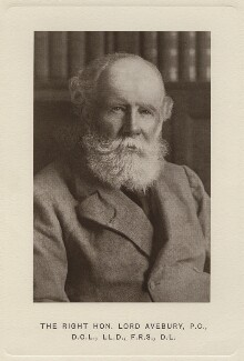 John Lubbock, 1st Baron Avebury, by Unknown photographer - NPG x138