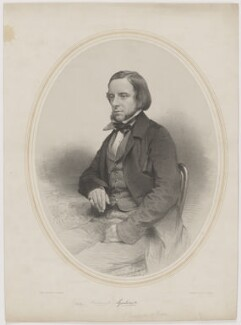 George Frederick Samuel Robinson, 1st Marquess of Ripon and 3rd Earl de Grey, by James Henry Lynch, printed by  M & N Hanhart, 1860s - NPG D39775 - © National Portrait Gallery, London