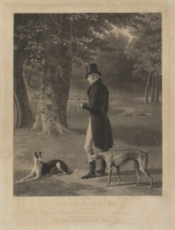 George Pitt, 2nd Baron Rivers, by John Porter, published by  Martin Colnaghi, after  Jacques-Laurent Agasse - NPG D39776
