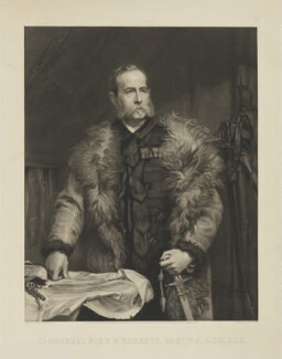 Frederick Sleigh Roberts, 1st Earl Roberts, by Richard Josey, published by  Henry Graves & Co, after  Walter William Ouless - NPG D39782
