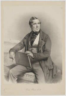 David Roberts, by Charles Baugniet, for  Day & Haghe - NPG D39789