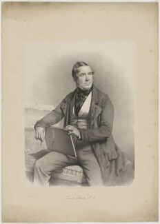 David Roberts, by Charles Baugniet, for  Day & Haghe - NPG D39790