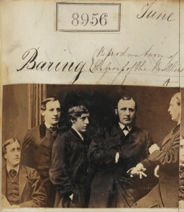The Baring brothers, by Camille Silvy - NPG Ax58779