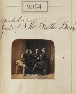 The Baring brothers, by Camille Silvy - NPG Ax58877