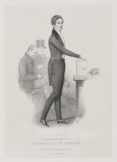 Sir Robert Peel, 2nd Bt, by John ('HB') Doyle, printed by  Charles Joseph Hullmandel, published by  Joseph Dickinson - NPG D39585