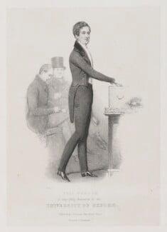Sir Robert Peel, 2nd Bt, by John ('HB') Doyle, printed by  Charles Joseph Hullmandel, published by  Joseph Dickinson - NPG D39585