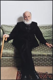 Sir Geoffrey Hill, by Peter Everard Smith - NPG x134426