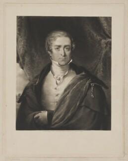 Sir Robert Peel, 2nd Bt, published by Welch & Gwynne, after  John Deffett Francis - NPG D39590