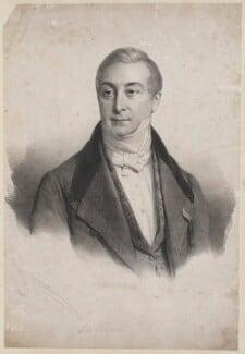 Sir Robert Peel, 2nd Bt, by Henri Grevedon - NPG D39592
