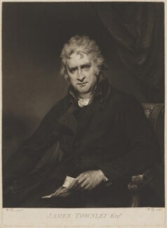 James Townley, by William Say, after  William Owen - NPG D40062
