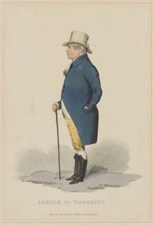 John Townsend, possibly by T.J.B., published by  Edward McLean - NPG D40064