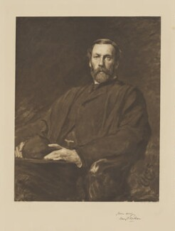 Henry Francis Pelham, by Swan Electric Engraving Co., after  Sir Hubert von Herkomer - NPG D40109