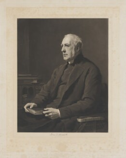 John Thomas Pelham, by James Faed the Elder, after  Walter William Ouless - NPG D40110
