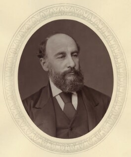 Sir George Strong Nares, by Lock & Whitfield, published by  Sampson Low, Marston, Searle and Rivington - NPG x21472