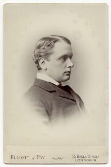 Archibald Philip Primrose, 5th Earl of Rosebery, by Elliott & Fry, 1886-1896 - NPG x134497 - © National Portrait Gallery, London