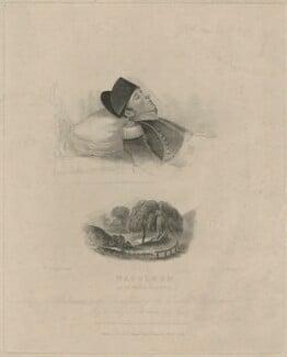 Napoleon ut in morte recumbit (Napoléon Bonaparte), by Henry Meyer, published by  D. Cox, after  Joseph William Rubidge - NPG D40203