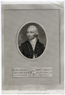 Edward O'Bryen, by William Skelton, and by and published by  Joseph John Skelton, after  John Smart - NPG D40205