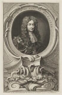Laurence Hyde, 1st Earl of Rochester, by Jacobus Houbraken, published by  John & Paul Knapton, after  Sir Godfrey Kneller, Bt - NPG D39820
