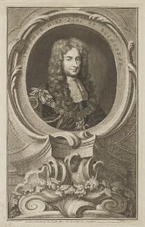 Laurence Hyde, 1st Earl of Rochester, by Jacobus Houbraken, published by  John & Paul Knapton, after  Sir Godfrey Kneller, Bt - NPG D39821