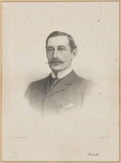 Sidney Herbert, 14th Earl of Pembroke, 11th Earl of Montgomery, by Morris & Co - NPG D40130