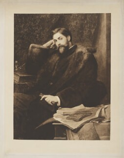 Sidney Herbert, 14th Earl of Pembroke, 11th Earl of Montgomery, published by Henry Graves & Co, after  Sir William Blake Richmond - NPG D40133