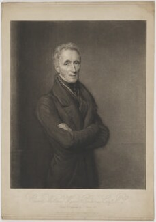 Edward William Wynne Pendarves, by John Linnell, published by  Dominic Charles Colnaghi, published March 1836 (1835) - NPG D40135 - © National Portrait Gallery, London