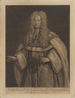 Sir Thomas Pengelly, by John Faber Jr, after  James Worsdale, 1730 - NPG D40136 - © National Portrait Gallery, London