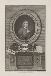 William Penn, by John Hall, after  Pierre Eugene Du Simitiere, after  Silvanus (Sylvanus) Bevan - NPG D40139