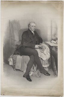 Richard Pennefather, by James Henry Lynch, printed by  M & N Hanhart, after  Sir Frederic William Burton - NPG D40142