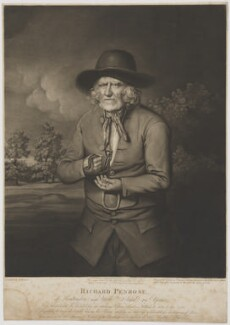 Richard Penrose, by John Jones, after  Stephen Hewson - NPG D40148