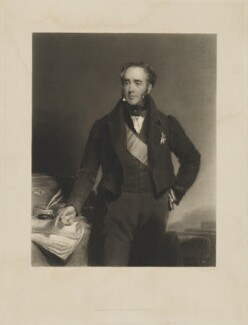 Robert Jocelyn, 3rd Earl of Roden, by Thomas Goff Lupton, printed by  R. Lloyd, published by  Hodgson & Graves, after  Frederick Richard Say - NPG D39830