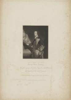 George Bridges Rodney, 1st Baron Rodney, by John Henry Robinson, published by  Harding & Lepard, after  William Derby, after  Sir Joshua Reynolds - NPG D39834