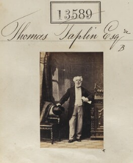 Thomas Taplin, by Camille Silvy - NPG Ax63222