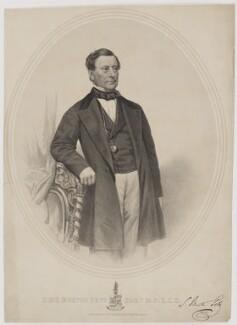 Sir (Samuel) Morton Peto, 1st Bt, by George B. Black, after  John Jabez Edwin Mayall - NPG D40174
