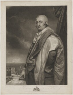 Robert Edward Petre, 9th Baron Petre, by Andrea Freschi, published by  Edward Orme, after  George Romney - NPG D40175