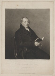 James Philipps, by Charles Turner, published by  Hurst, Robinson & Co, after  George Sharples - NPG D40184