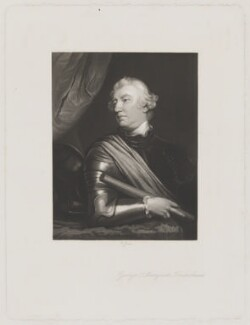 George Townshend, 4th Viscount and 1st Marquess Townshend, by Richard Josey, after  Sir Joshua Reynolds - NPG D40069