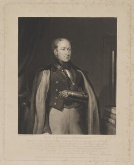 Sir Thomas Phillips, by William Giller, published by  Thomas Boys, and published by  Morgan Evans, after  Francis Williams - NPG D40199