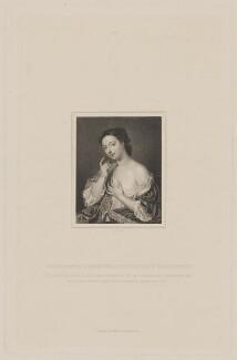 Ethelreda (née Harrison), Viscountess Townshend, probably by Conrad Cook, published by  Richard Bentley, after  Christian Friedrich Zincke, published 1843 - NPG D40071 - © National Portrait Gallery, London