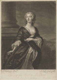 Teresia Constantia Phillips, by John Faber Jr, after  Joseph Highmore - NPG D40206
