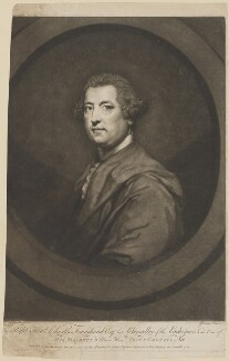 Charles Townshend, by John Dixon, published by  William Wynne Ryland, after  Sir Joshua Reynolds, published 21 December 1770 (1765-1767) - NPG D40073 - © National Portrait Gallery, London