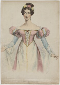 Louisa Anne Phillips as Claudia in Mitford's 'Rienzi', by Henry Edward Dawe - NPG D40207