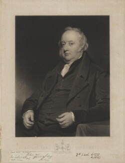 Charles Marsham, 2nd Earl of Romney, by Thomas Goff Lupton, after  Henry Perronet Briggs - NPG D39865