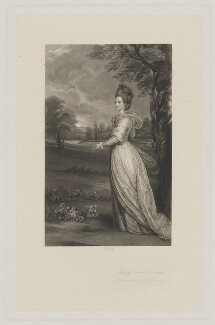 Frances Marsham (née Wyndham), Countess Romney, by Richard Josey, after  Sir Joshua Reynolds - NPG D39866