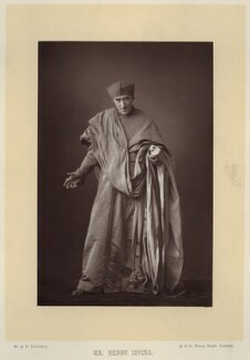 Sir Henry Irving as Cardinal Wolsey in 'Henry VIII', by W. & D. Downey, published by  Cassell & Company, Ltd - NPG x134583