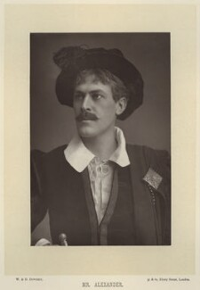 Sir George Alexander (George Samson), by W. & D. Downey, published by  Cassell & Company, Ltd, published 1893 - NPG x134586 - © National Portrait Gallery, London