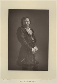 Sir Herbert Beerbohm Tree, by W. & D. Downey, published by  Cassell & Company, Ltd - NPG x134588