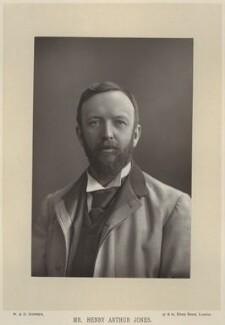 Henry Arthur Jones, by W. & D. Downey, published by  Cassell & Company, Ltd - NPG x134594